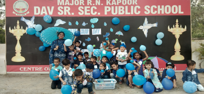 BLUE COLOUR DAY CELEBRATION